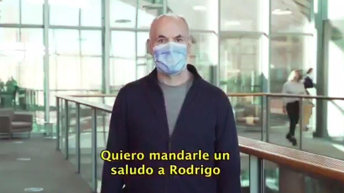 El jefe de Gobierno porteño respaldó al concejal cordobés Rodrigo de Loredo e invitó a leer su flamante libro.