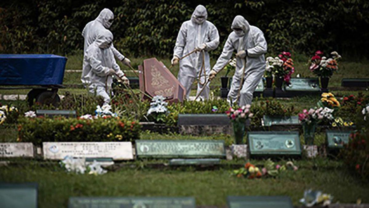 La pandemia sigue haciendo estragos en el país vecino.
