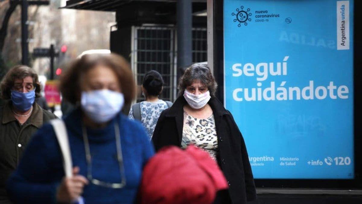 Argentina registró este miércoles 25.878 nuevos casos de coronavirus.