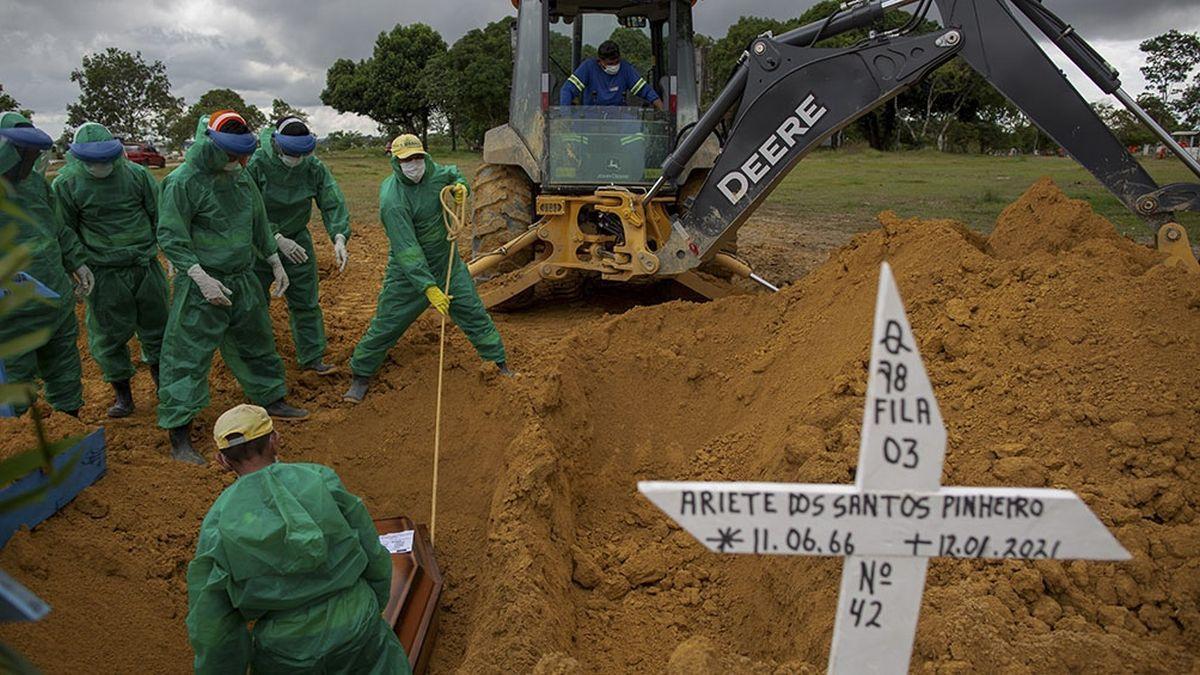La cepa de Manaos está detrás de la catastrófica situación sanitaria que atraviesa Brasil.