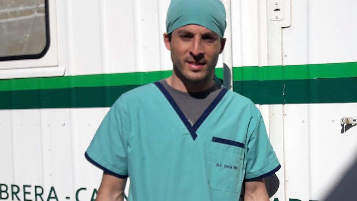 El veterinario David Ruiz hizo un balance de la tarea realizada.
