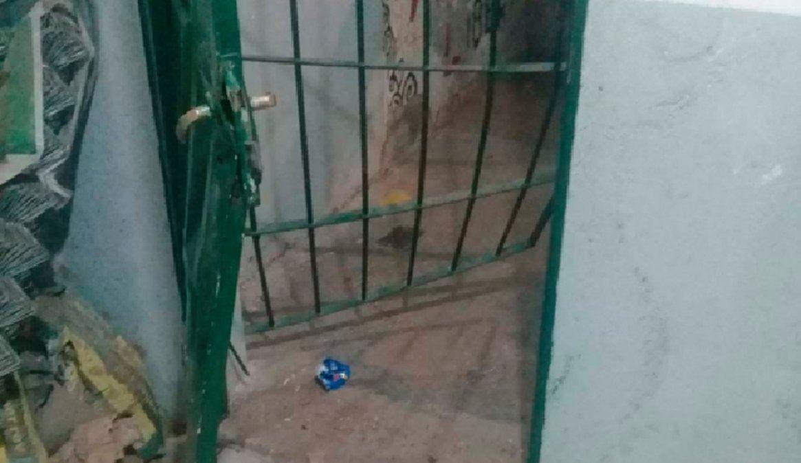 Rompieron una puerta para robar en la sede de una vecinal