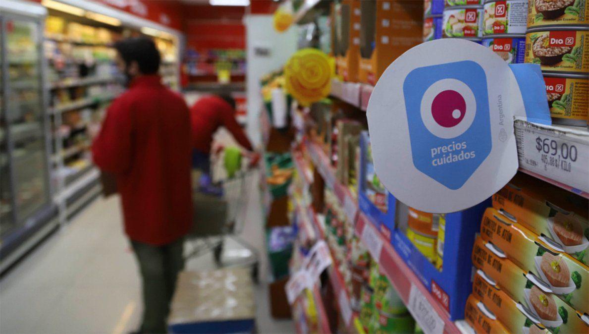 """Los productos que se incorporan al Precios Cuidados """"se mantienen todo el año"""" en el programa."""