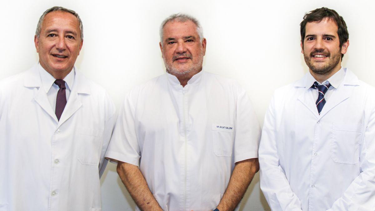 La medicina laboral en RíoCuarto ahora tiene un nuevo espacio con profesionales de gran trayectoria yprestigio en la materia. En la foto los Dres. OSVALDO FOGLINO