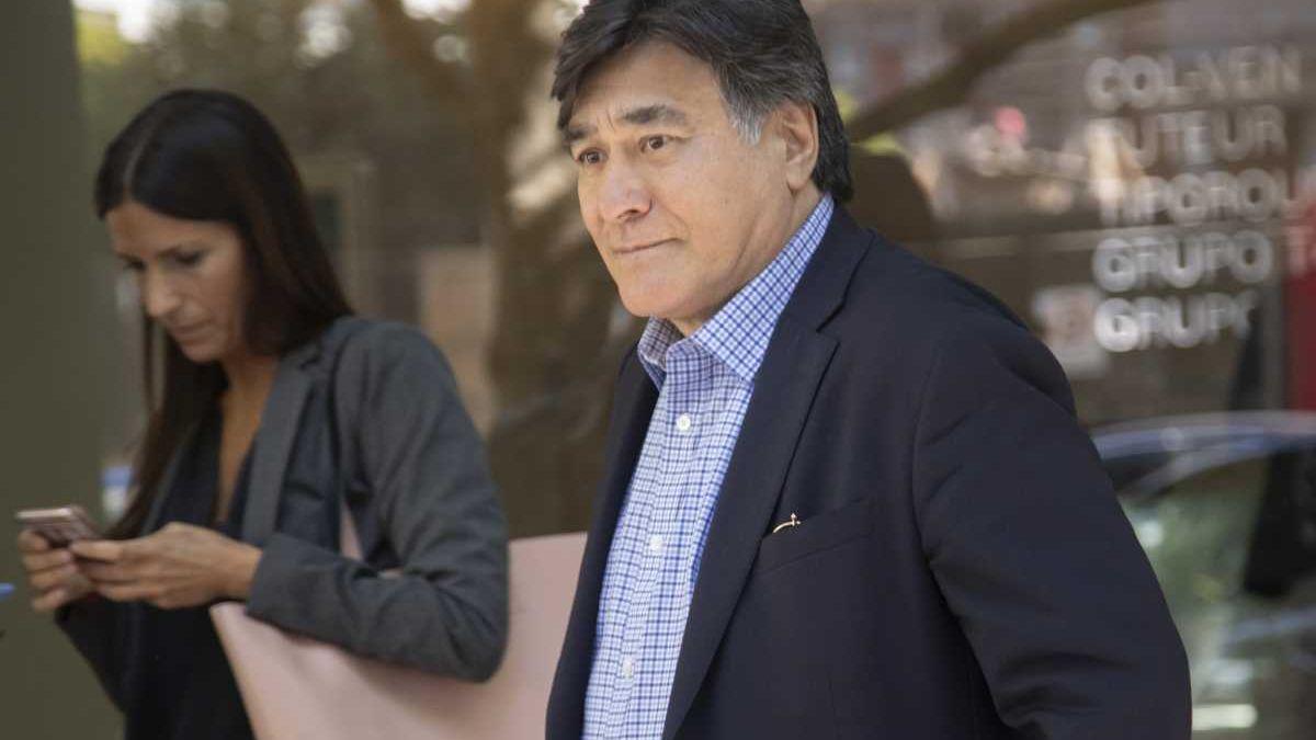 Carlos Zaninni se presentó hoy en la justicia Federal.