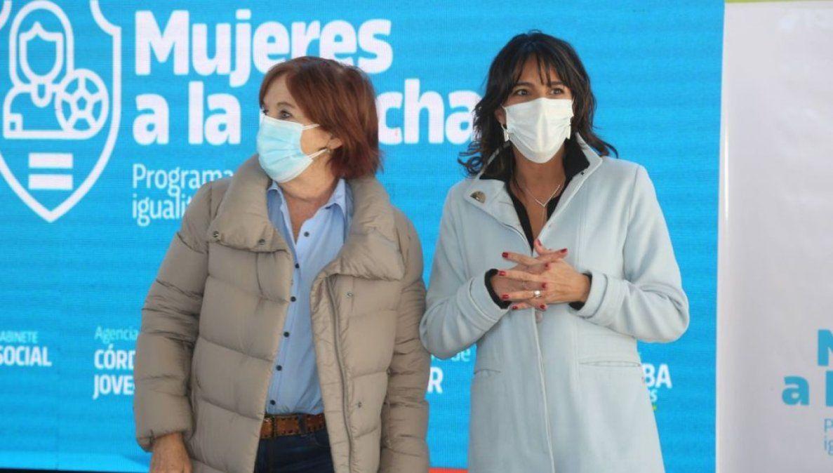 María Alejandra Vigo y Natalia De La Sota.