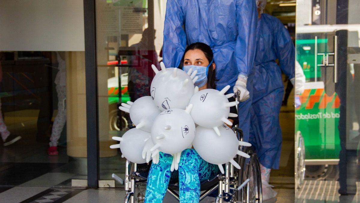 El primer contagio en el personal de la salud vino de la mano del primer caso de Covid-19 en la ciudad: fue la enfermera que atendió al paciente 1.