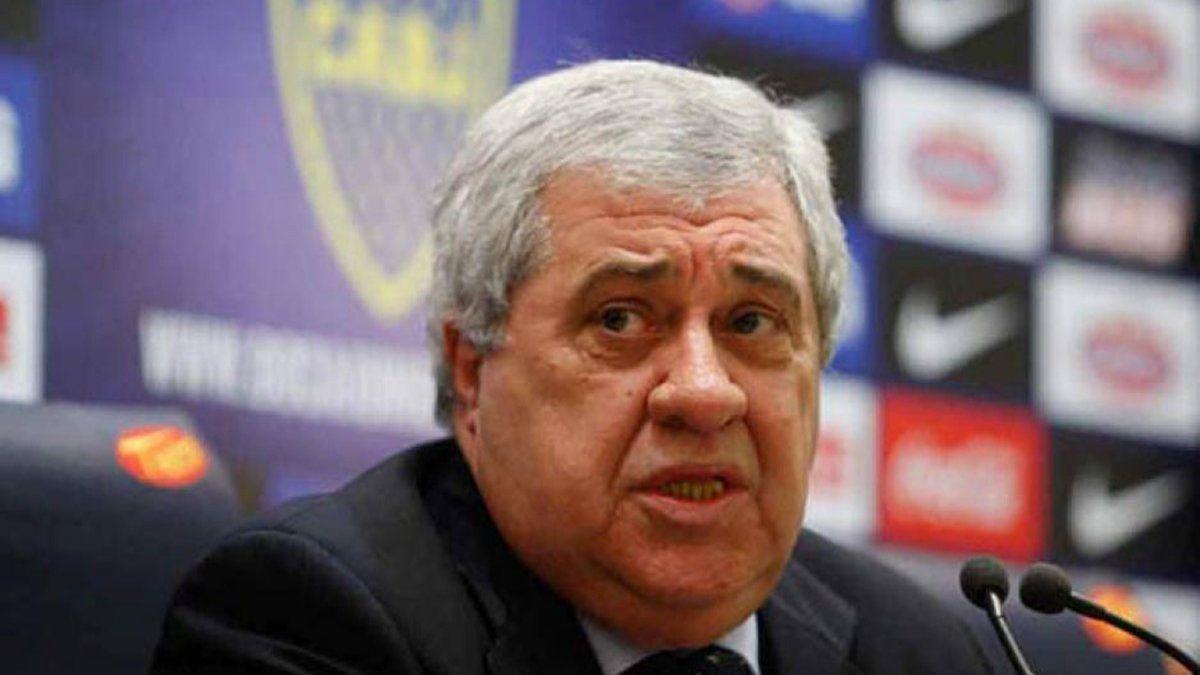El comunicado de Boca Juniors lleva la firma de su presidente