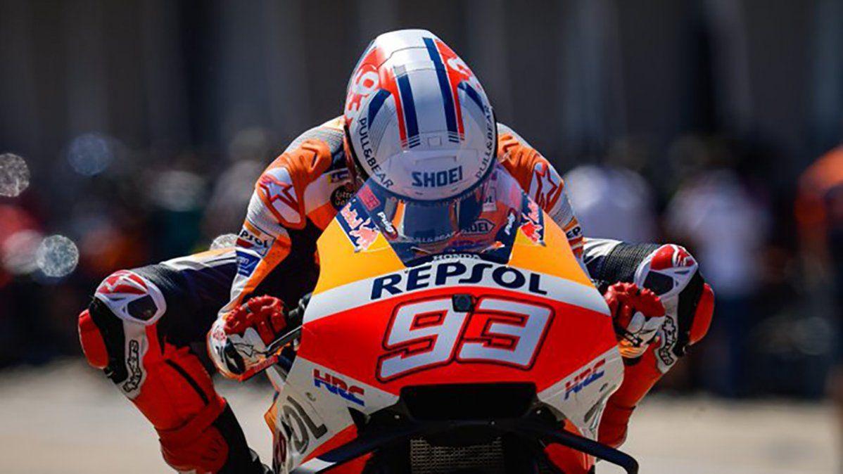 Marc Márquez volvió al triunfo en el Moto GP