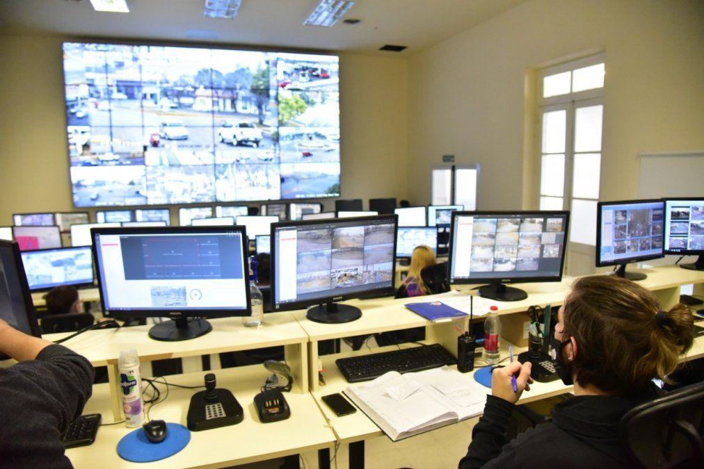 El centro de monitoreo registró más de 1.200 intervenciones