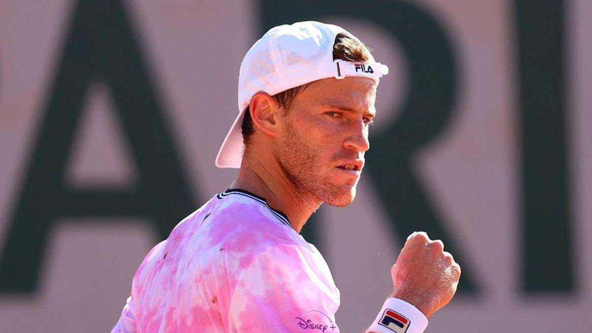 Schwartzman avanza en Roland Garros