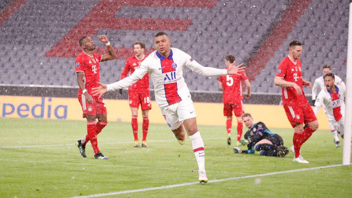 PSG sorprendió al Bayern Múnich