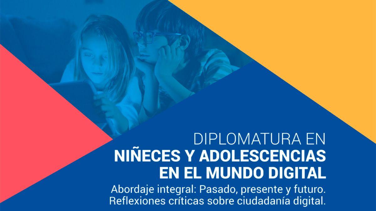 Nueva diplomatura en Niñeces y Adolescencias en  el Mundo Digital