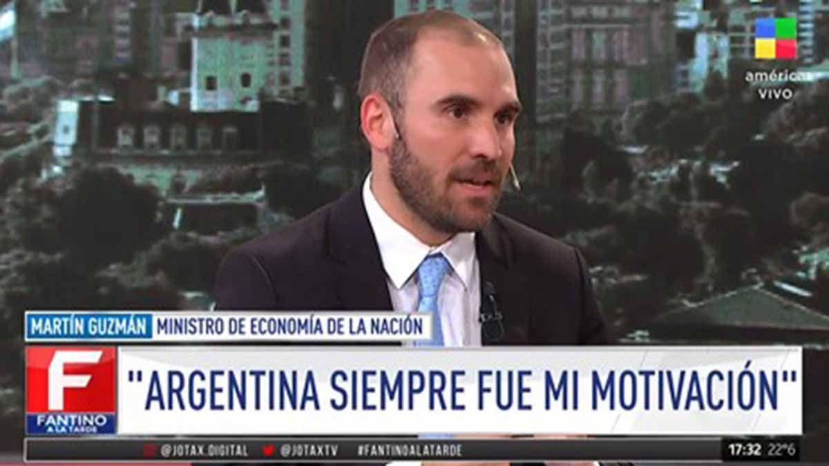 El acuerdo con el FMI será enviado  al Congreso, adelantó Guzmán