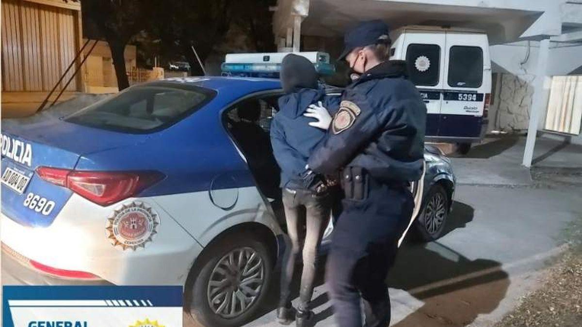 Una mujer quedó detenida por un robo