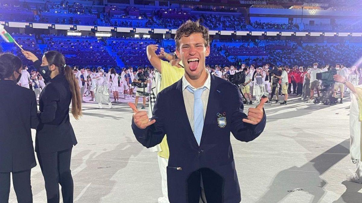 Así vivieron los atletas argentinos la Inauguración de Tokio 2020