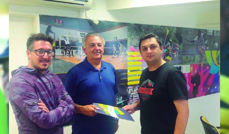 Apoyo económico del ente para el salón polideportivo del Aurinegro