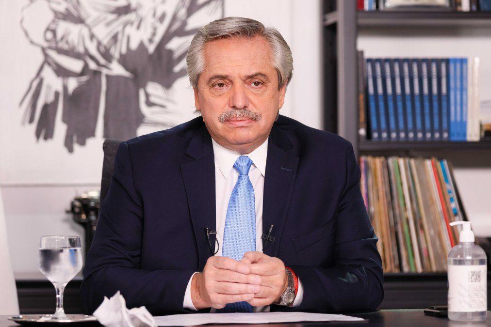 El presidente emitió un mensaje de 18 minutos en el que detalló las nuevas medidas para el AMBA.