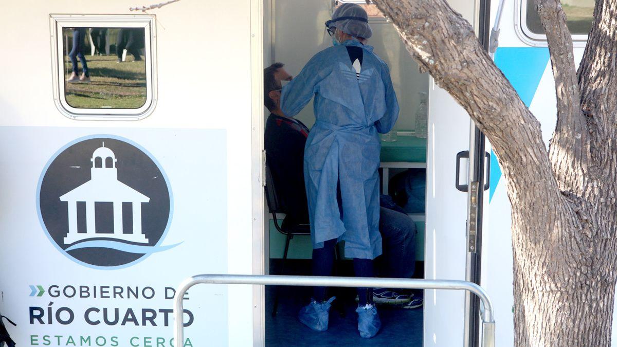Río Cuarto acumula 23.212 casos de coronavirus desde el inicio de la pandemia.