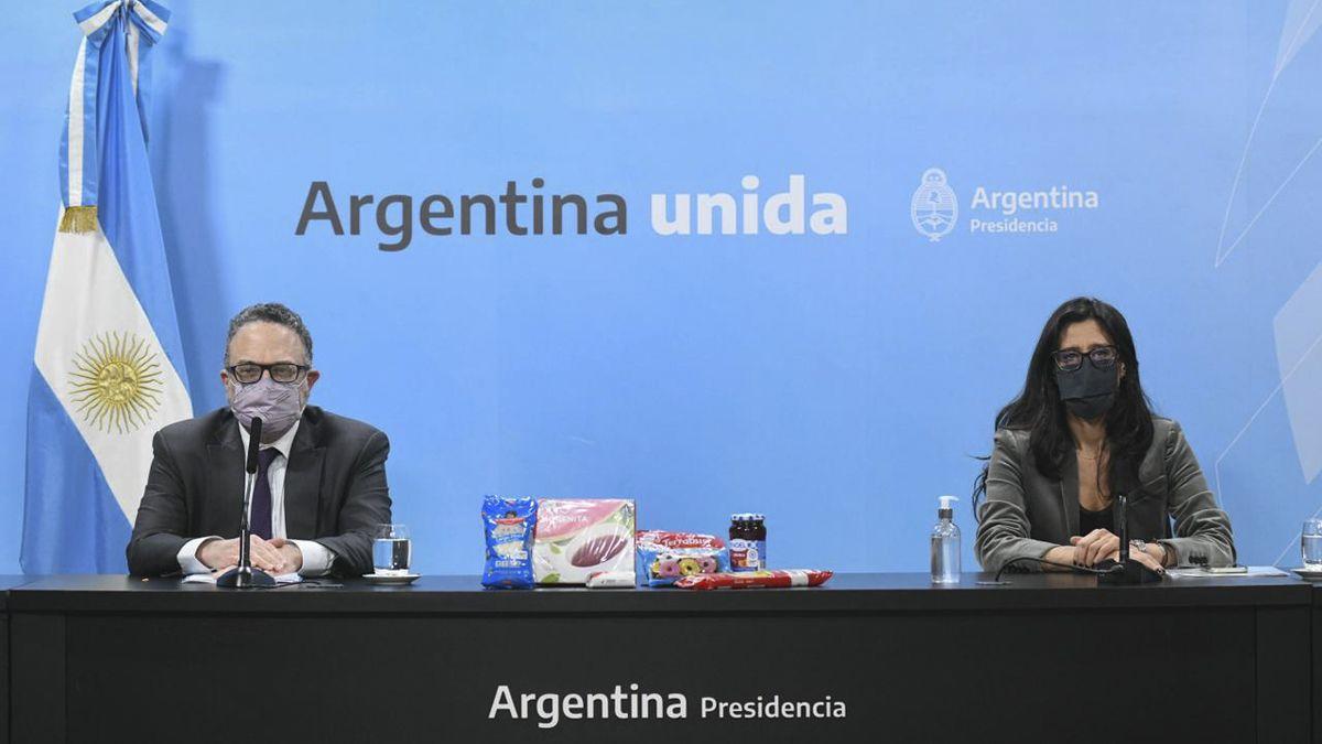 El ministro Kulfas y Paula Español presentaron el programa Súper Cerca.
