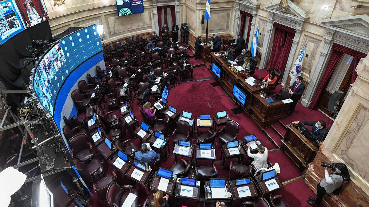 El Senado sesionará hoy