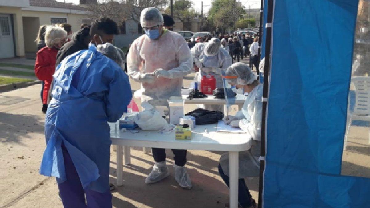 Rio Cuarto sumó 100 casos nuevos de coronavirus.