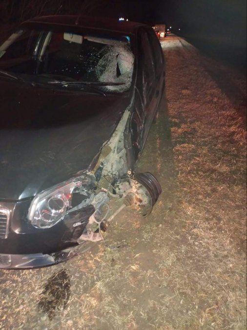 Los rodados que participaron del accidente chocaron de frente en ruta 6