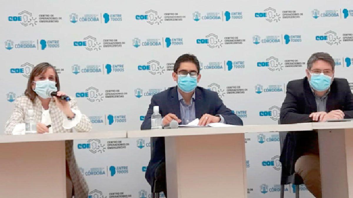 Las autoridades del Ministerio de Salud de la Provincia de Córdoba presentaron su informe.