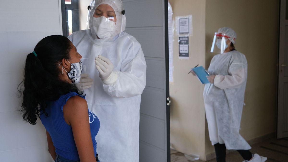 Argentina volvió a registrar un récord de casos de coronavirus.