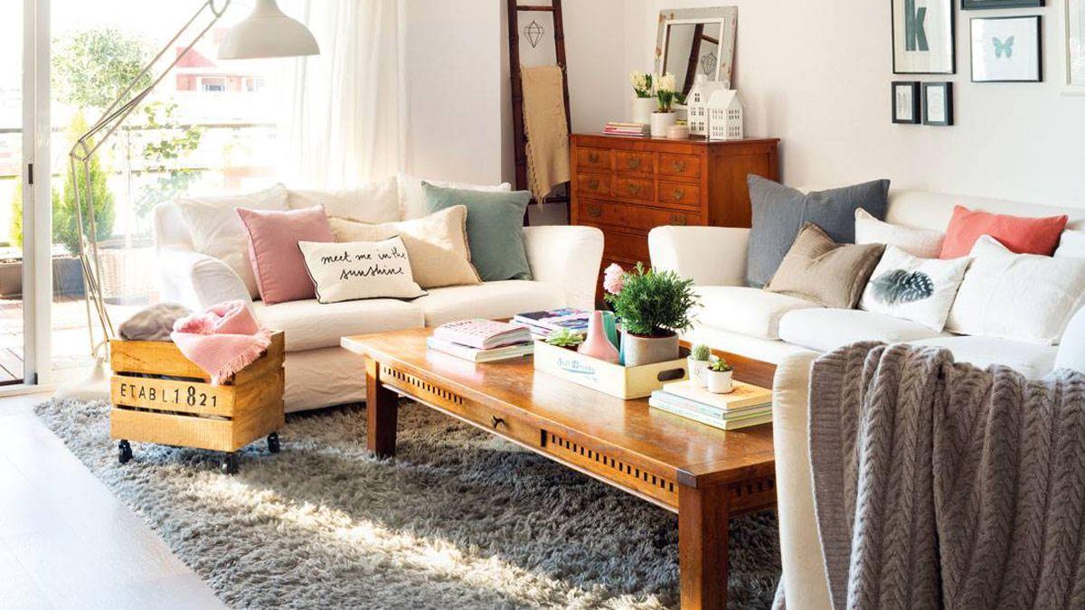 Las alfombras son perfectas para delimitar espacios