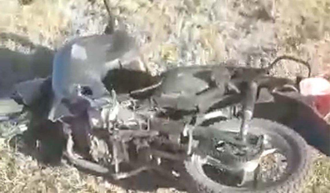Denuncian que un motociclista se cayó cuando lo perseguía Gendarmería