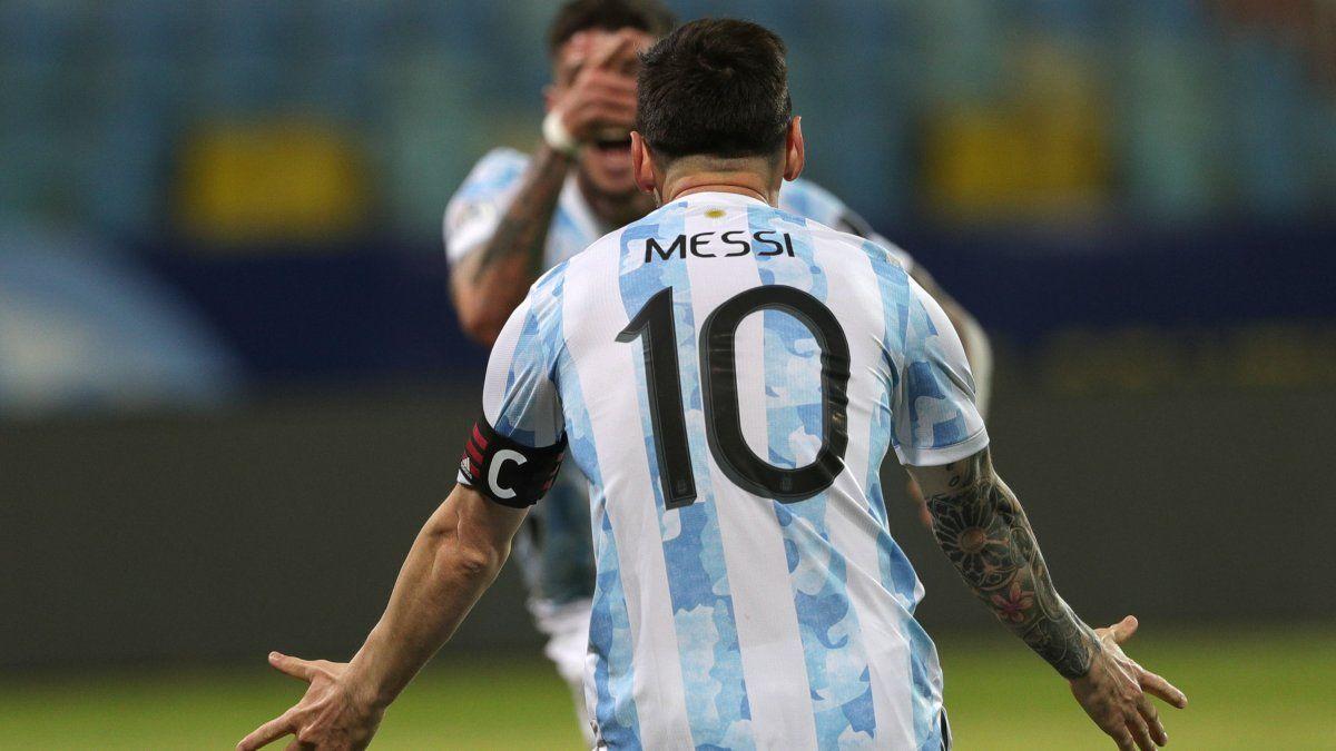 Cuatro argentinos en el equipo ideal de la Copa América