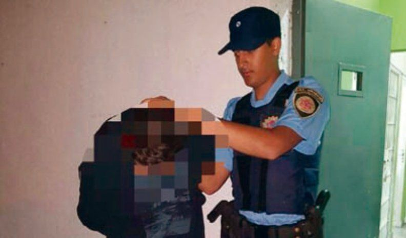 Cayó preso por conducir una moto con el motor robado