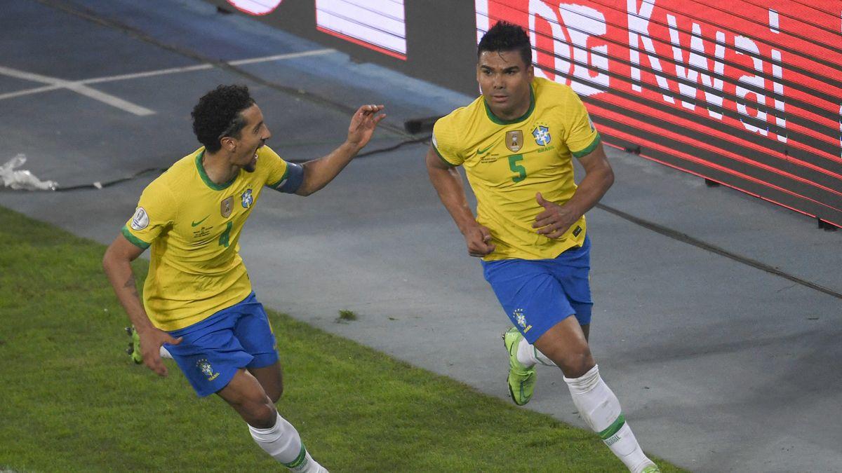 Brasil ganó sobre la hora en la Copa América