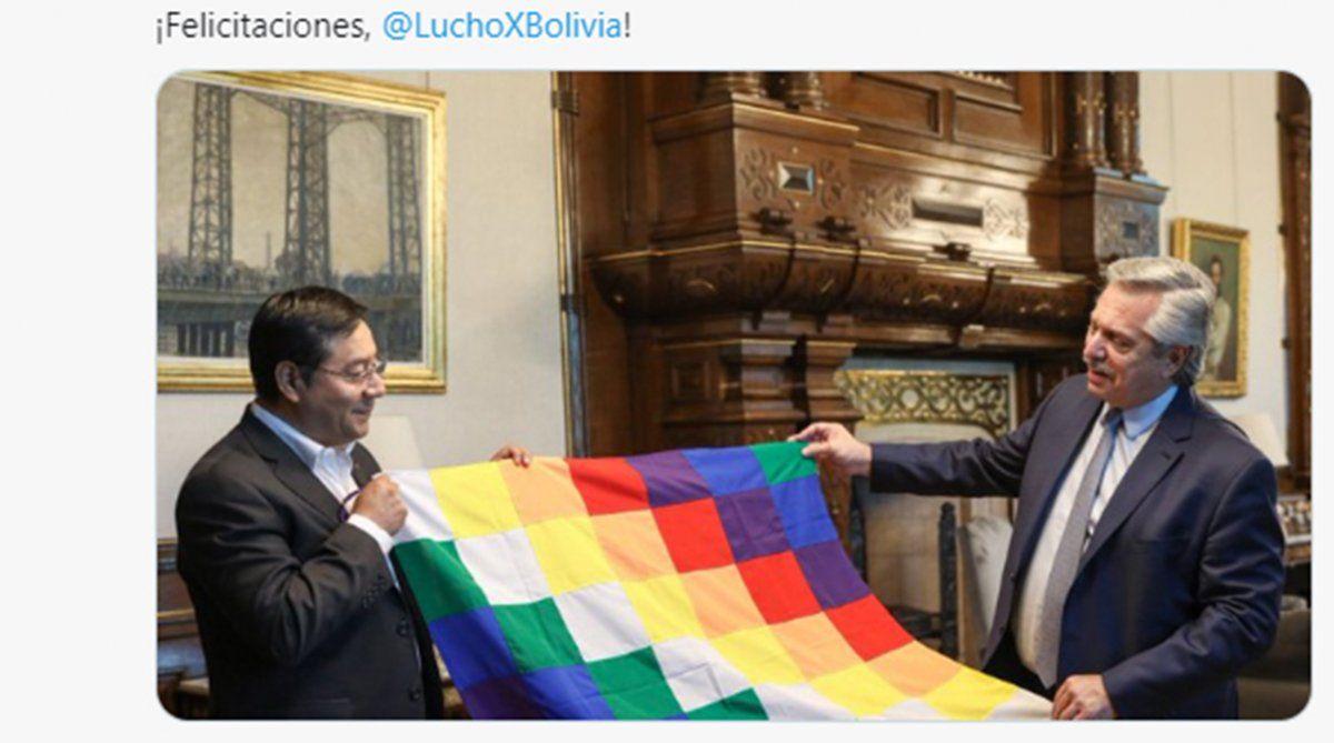 El gobierno argentino celebró el triunfo electoral del MAS en Bolivia