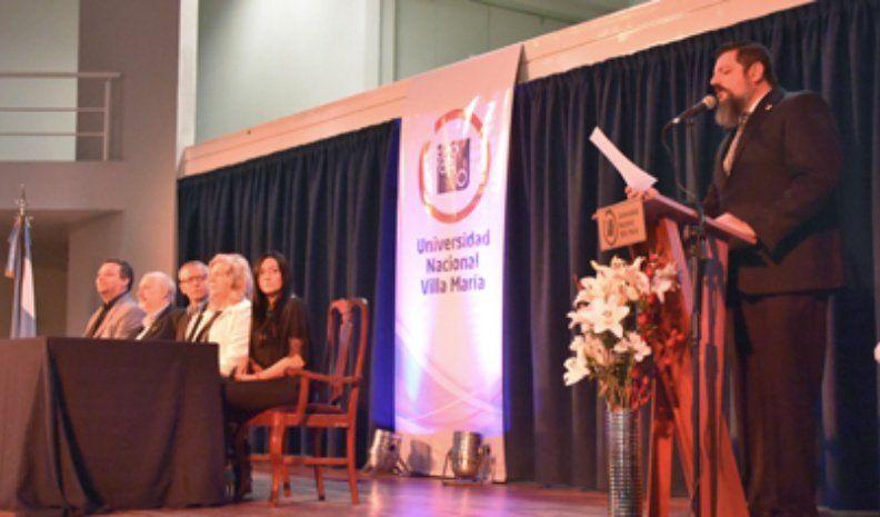 Con distinciones a docentes, la UNVM festejó 23 años