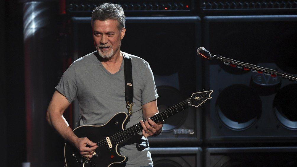 Eddie Van Halen falleció a los 65 años.