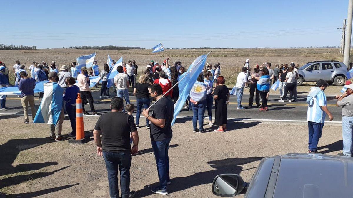 El límite interprovincial con La Pampa, otra vez centro del reclamo por la libre circulación