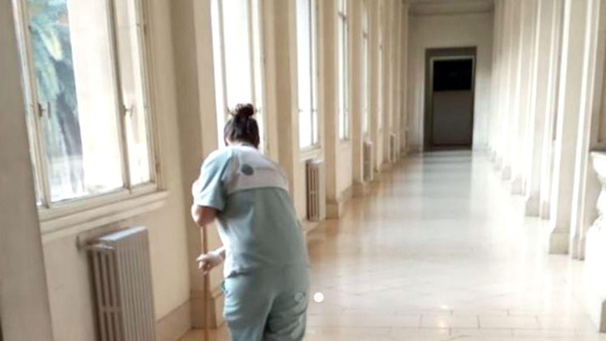 La paciente de 35 años se desempeñaba en la Justicia de Córdoba.