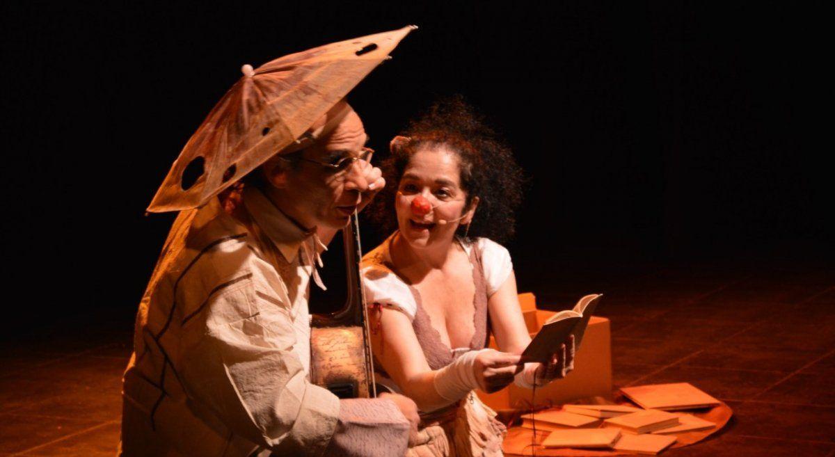 Teatro Obra: Si no vuelo caigo