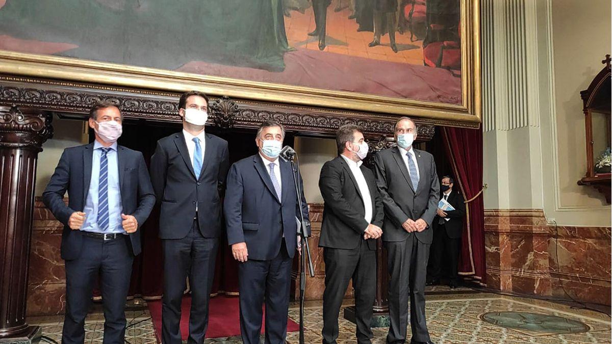 La oposición cuestionó el discurso de Alberto Fernández.