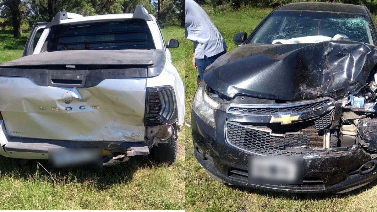 El accidente se registró a la altura del kilómetro 670