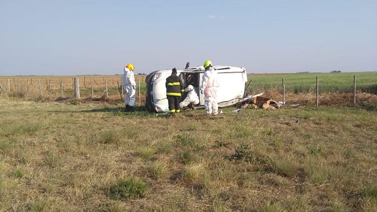 Una victima fatal en un accidente en la ruta 35