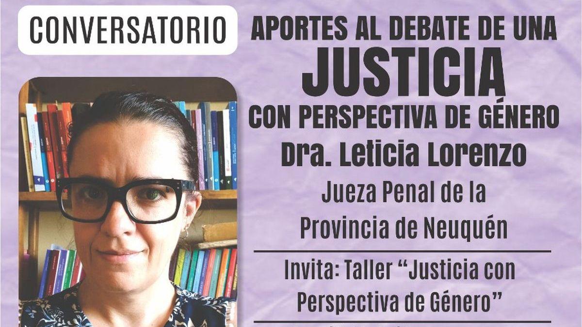 Realizarán un conversatorio sobre la perspectiva de género en el Poder Judicial