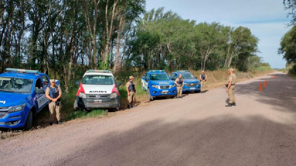 Hubo operativos en una amplia zona rural del sur de Córdoba.