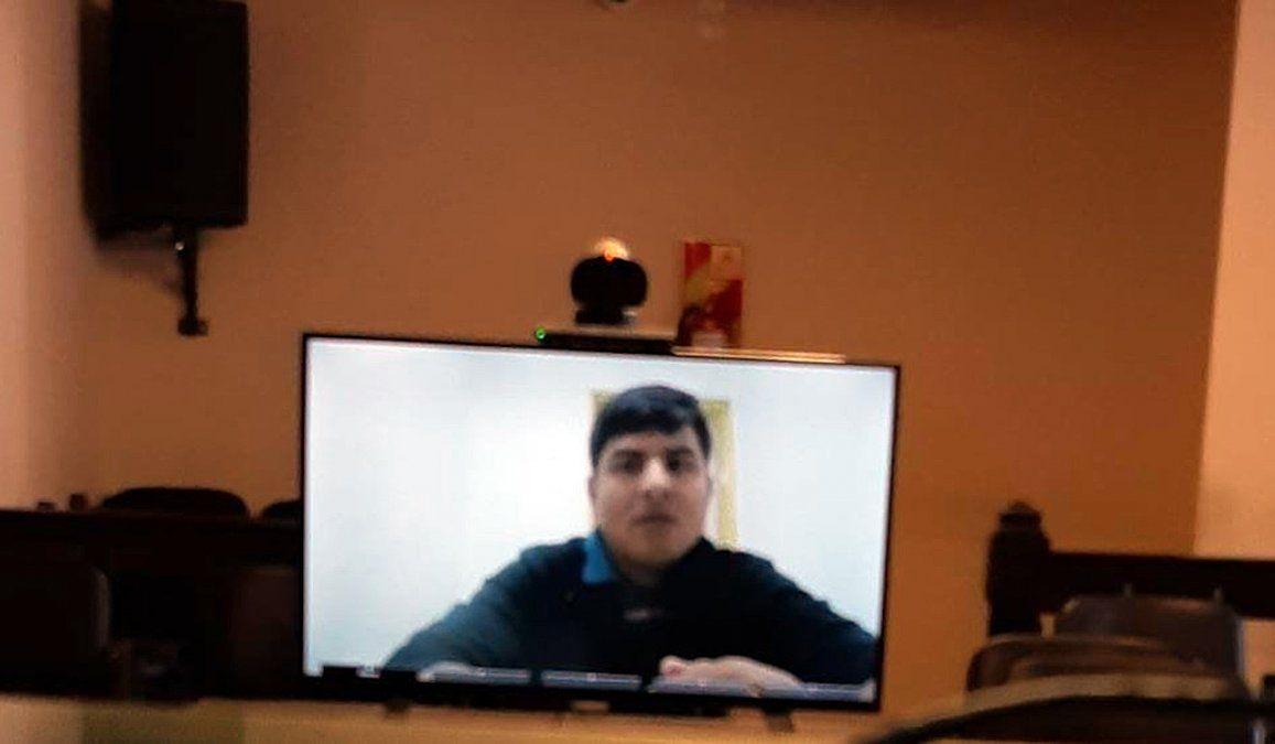 En un juicio bajo modalidad de teleconferencia, ElvioFabiánBarrios recibió condena