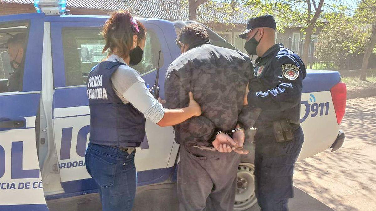 El detenido acusado de emitir los disparos contra el grupo de jóvenes.