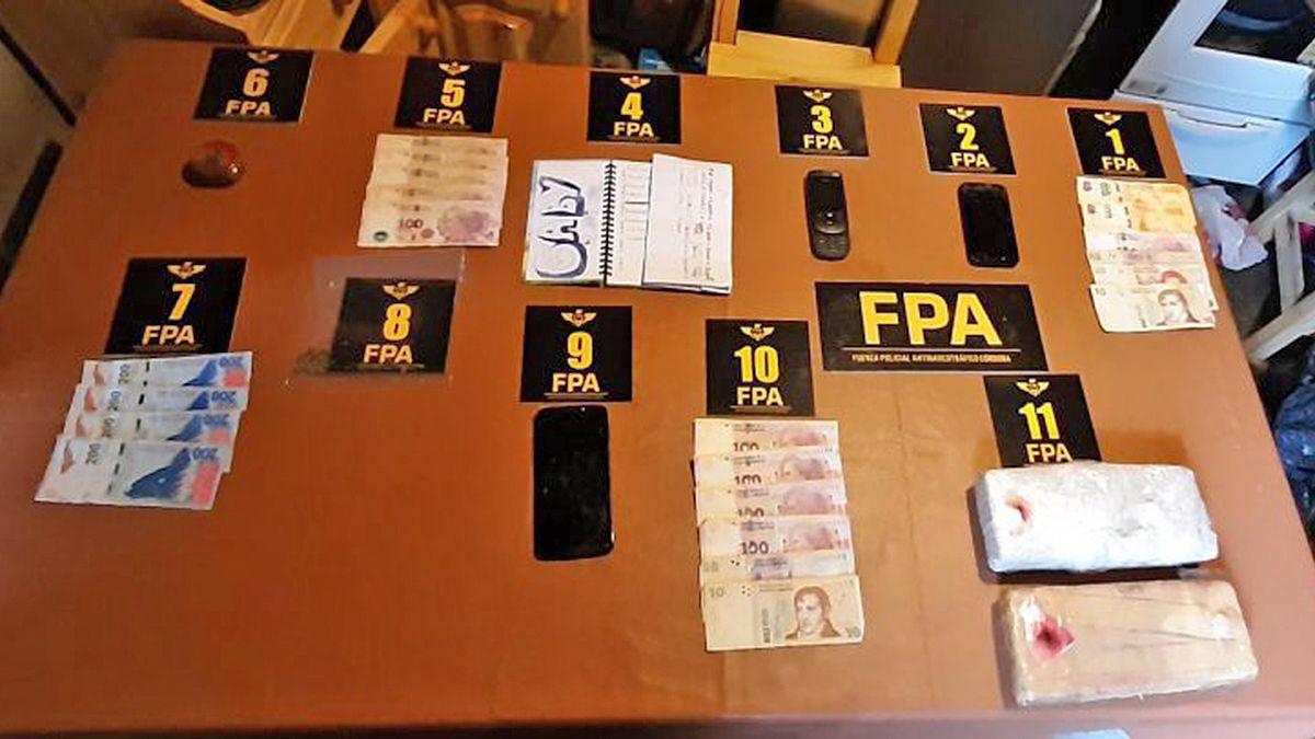 Laboulaye: allanaron tres casas en un mismo terreno y secuestraron droga