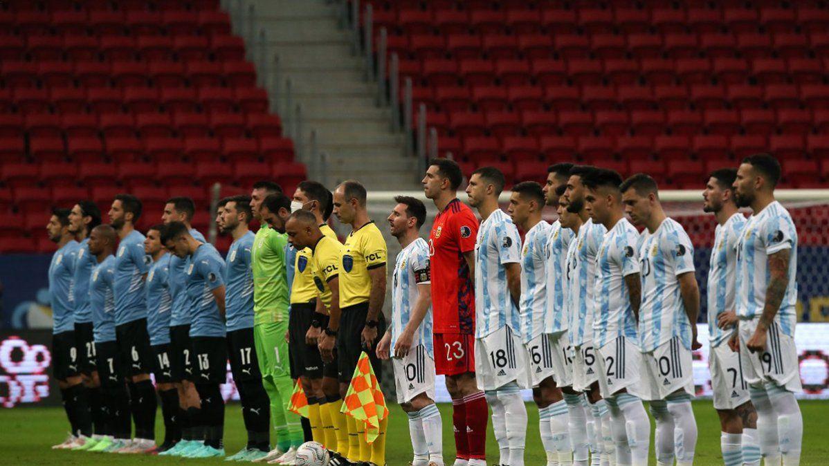 Argentina le ganó a Uruguay en Brasilia