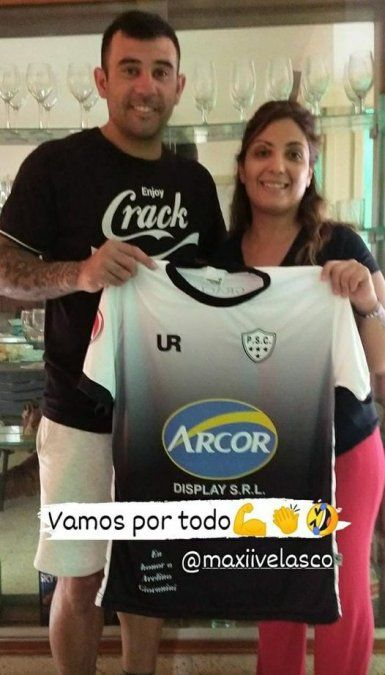 Maxi Velasco, el goleador que dejó las luces del profesionalismo para estar con su familia